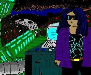 "MS Paint for the Win! :) [""Planet Caverns"" by C.A.Brown - released under a Creative Commons BY-NC-ND licence)"