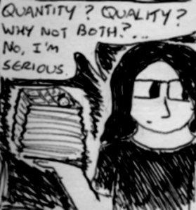 2013 Artwork Quality Quantity Sketch
