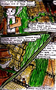 """""""Stories Volume 1 - page 22"""" by C.A.Brown. This is an example of a comic page with a variable layout. The whole comic can be found in the """"Stories comic"""" category on this blog. This page is released under a Creative Commons BY-NC-ND Licence"""