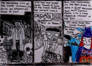 """Damania - Necropolis"" By C.A.Brown [21st October 2012]"