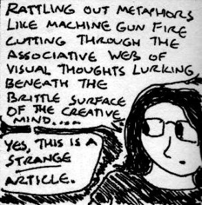 2013 Artwork Strange Metaphors sketch