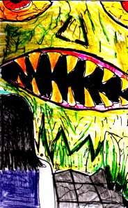 """""""Another Monster"""" By C. A. Brown"""