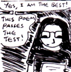2013 Artwork Poetry Reading Sketch
