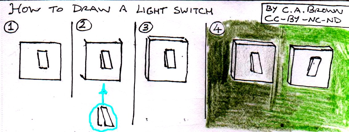 How To Draw A Light Switch « PekoeBlaze - the official blog