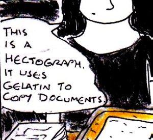 2013 Artwork Hectograph sketch