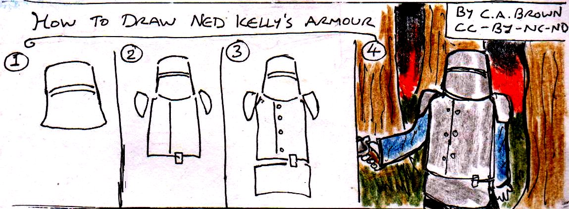 ned kelly coloring pages - photo#20