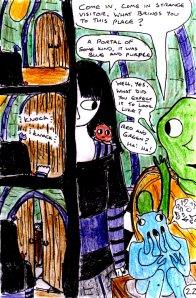 """Jadzia Strange (remake) - Page 22"" By C. A. Brown"