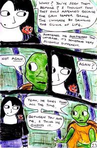 """Jadzia Strange (remake) - Page 23"" By C. A. Brown"