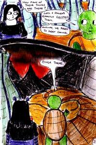 """Jadzia Strange (remake) - Page 25"" By C. A. Brown"