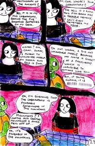 """Jadzia Strange (remake) - Page 29"" By C. A. Brown"