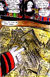 """Jadzia Strange (remake) - Page 32"" By C. A. Brown"