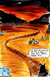"""Jadzia Strange (remake) - Page 36"" By C. A. Brown"