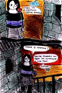 """Jadzia Strange (remake) - Page 37"" By C. A. Brown"