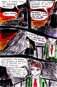 """Jadzia Strange (remake) - Page 38"" By C. A. Brown"