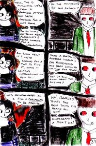 """Jadzia Strange (remake) - Page 39"" By C. A. Brown"