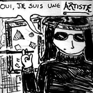 2013 Artwork Calling Yourself An Artist Sketch