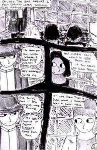 """Jadzia Strange (remake) - Page 46"" By C. A. Brown"