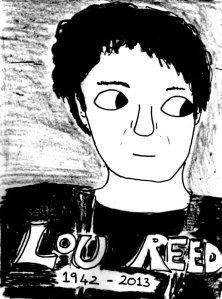 2013 Artwork Lou Reed Tribute