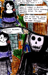 A much crisper and more readable A4 comic page.