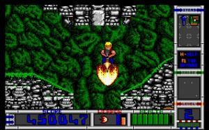 Yes, you can fly... using a flamethrower! Games don't get much cooler than THIS!