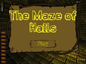 maze of halls title