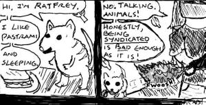 """""""Damania Lite - No Rats Were Harmed In The Making Of This Comic"""" By C. A. Brown"""