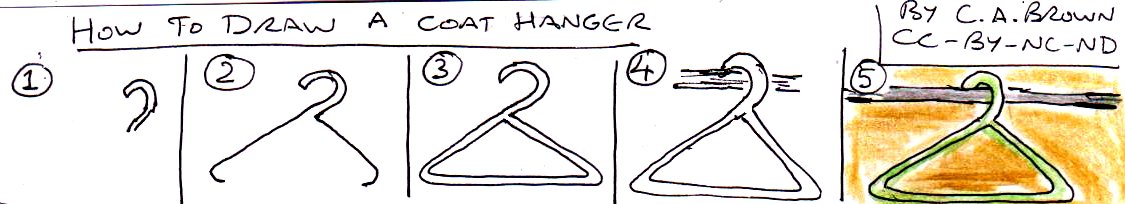 how to fix a coat hanger