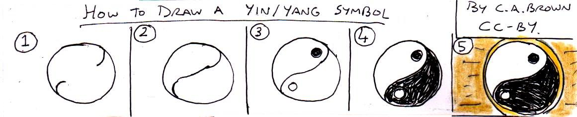 How To Draw A Yin Yang Symbol Pekoeblaze The Official Blog