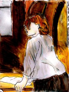 """""""After Lautrec"""" By C. A. Brown"""