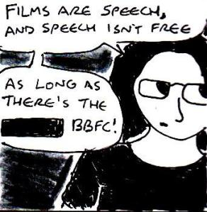 2014 Artwork BBFC guidelines review Sketch