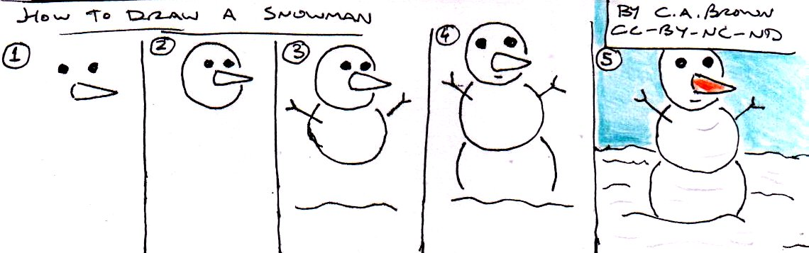 How to draw a snowman new calendar template site for How to create a snowman