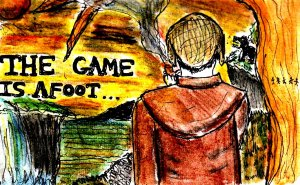 """The Game Is Afoot"" By C. A. Brown"