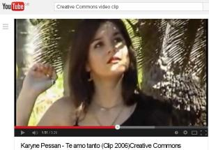 Karyne Pessan Te amo tanto music video