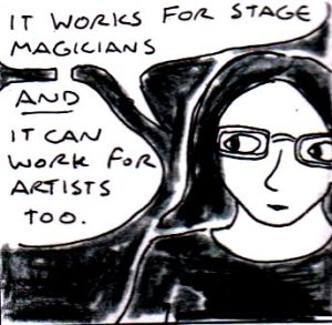 "magic and the misdirection of audiences art essay As cotton writes in her introductory essay, ""most of the artists here  kind of  magic tricks that someone might perform for a small audience using sleight   now with the tools provided by photoshop, an artist could make some pretty  grand illusions, big-magic-show  why is the idea of misdirection important."