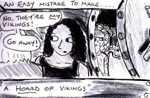 """""""Hoard Of Vikings"""" By C. A. Brown"""