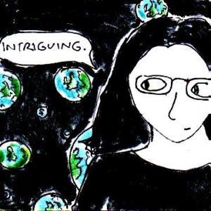 2014 Artwork Parallel universes sketch