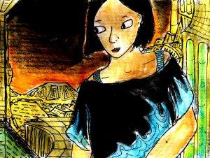 """Random Cyberpunk"" By C. A. Brown"