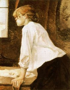 """The Laundress"" By Henri De Toulouse-Lautrec"