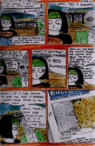 """""""Anachrony - Page 2"""" By C. A. Brown [9th December 2012]"""