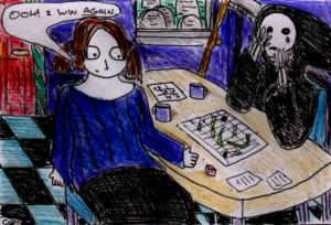 """""""Cheating Death"""" By C. A. Brown [24th September 2012]"""