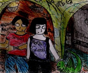 """""""See! I Told You This Place Wasn't Haunted"""" By C. A. Brown [24th September 2012]"""
