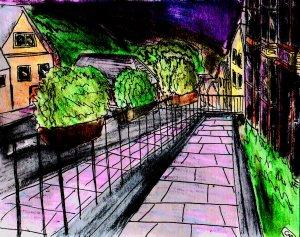 """""""Aberystwyth - Alexandra Road Again"""" By C. A. Brown"""