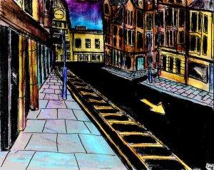 """""""Aberystwyth - Blue Sunrise"""" By C. A. Brown"""