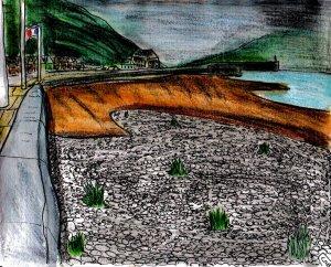 """Aberystwyth - Edge Of The Coast"" By C. A. Brown"