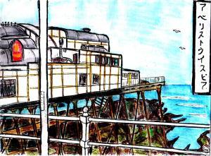"""Aberystwyth - Hokusai Pier"" By C. A. Brown [APRIL 2014]"