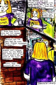 """""""Ephemera - Page 4"""" By C. A. Brown"""