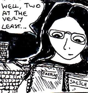 2014 Artwork Two Sketchbooks Sketch