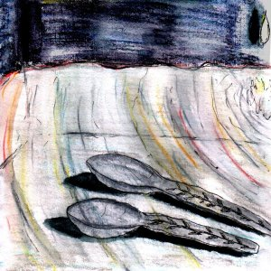 """Two Spoons"" By C. A. Brown"