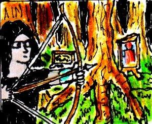 2014 Artwork Artistic Hunt Sketch