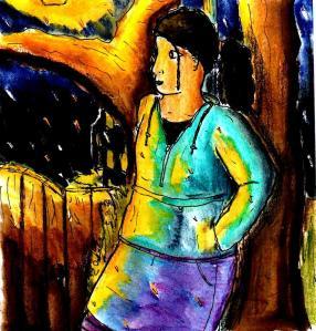 """""""First Rain"""" By C. A. Brown"""
